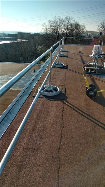 Safety Fall Protection Wm Kramer Amp Son Inc Roofing